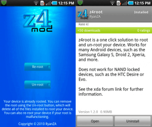 How To Root Android Phone With Z4Root App