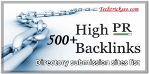 Free-High-PR-Directories-Submission-Sites-List