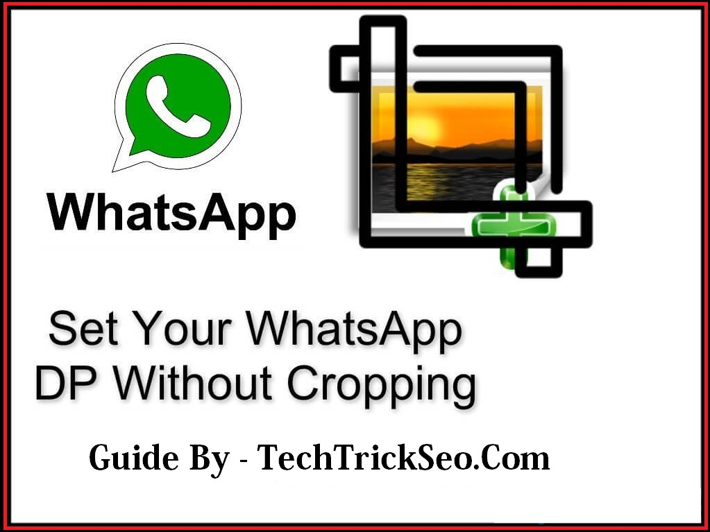 set whatsapp-profile-picture-without-crop