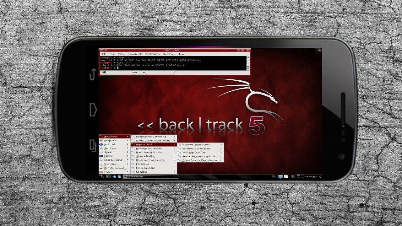 Tutorial] How To Install and Run Backtrack 5 On Android 2019
