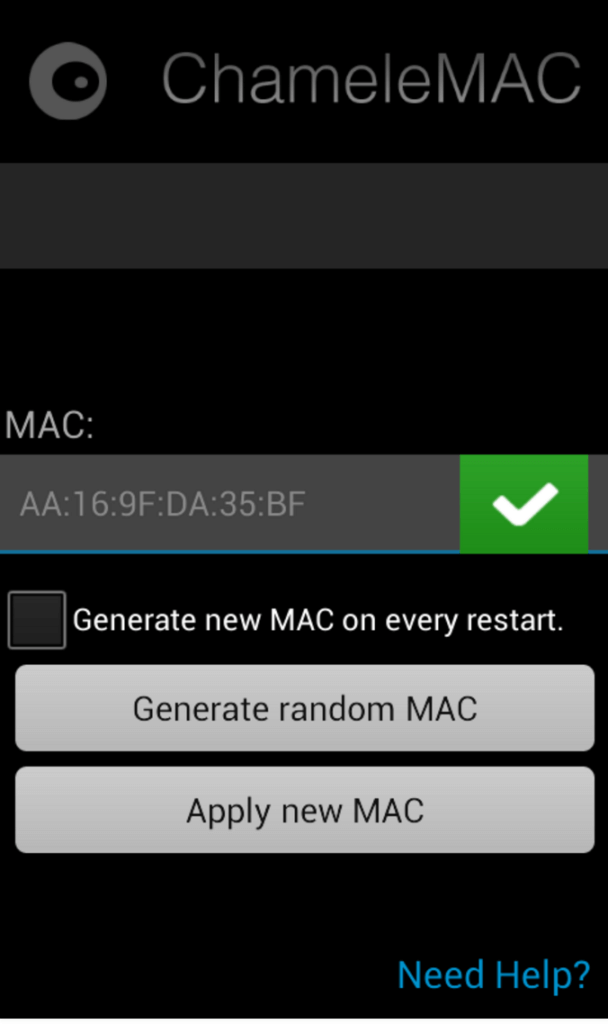 change mac android app without root