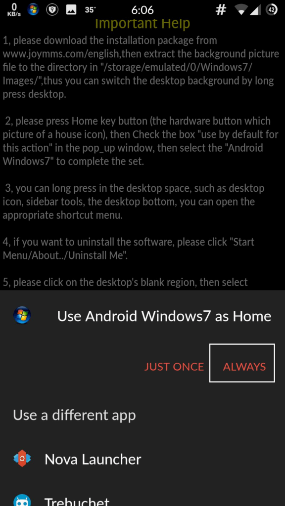 Download windows 7 launcher apk for android | android crush.