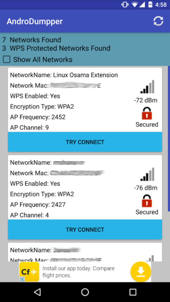 crack wps android app