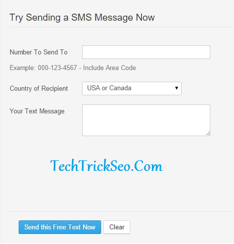 100% Working} 15 Sites Send Anonymous SMS Without Registration 2019