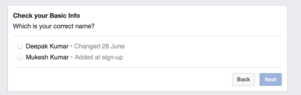 change facebook name before 60 days trick