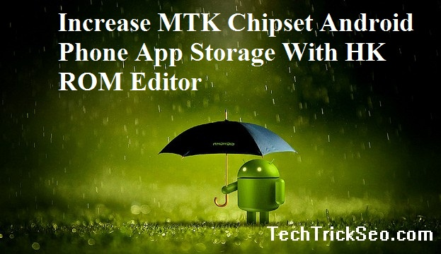 increase mtk android app storage