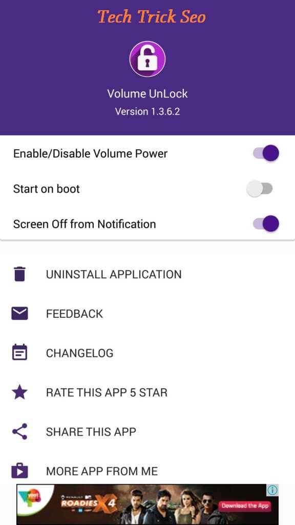 power button to volume button apk