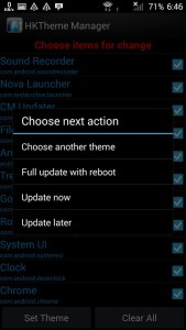 Cyanogenmod themes any android