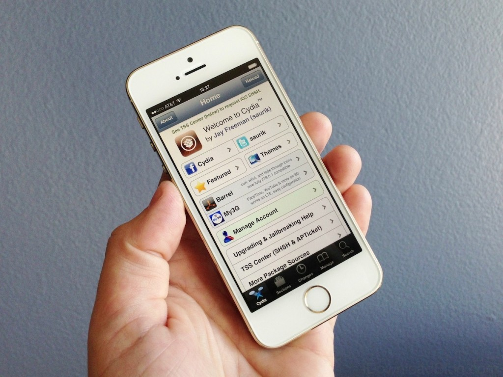 Cydia on iPhone