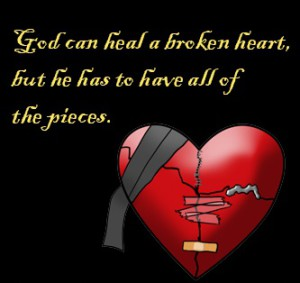 God can heal a broken heart whatsapp profile pics dp