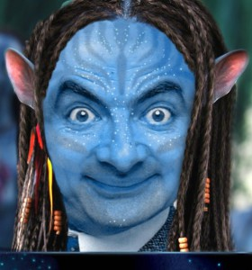 Mr bean as an avatar whatsapp dp