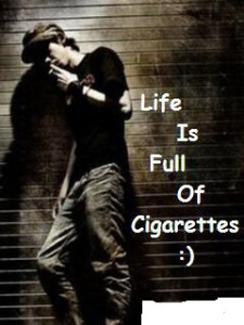 awesome boys whatsapp profile pictures with cigarette
