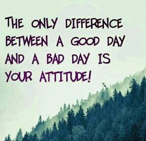 best attitude quotes thoughts about good bad day whasapp dp