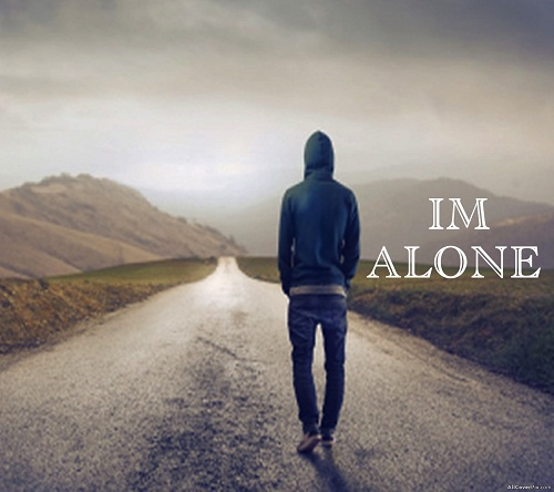 Alone Boy Sad DP for Whatsapp