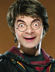 mr bean as harry potter whatsapp dp