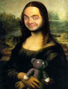 mr bean pics as a women whatsapp dp
