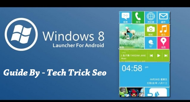 windows 8 launcher for android