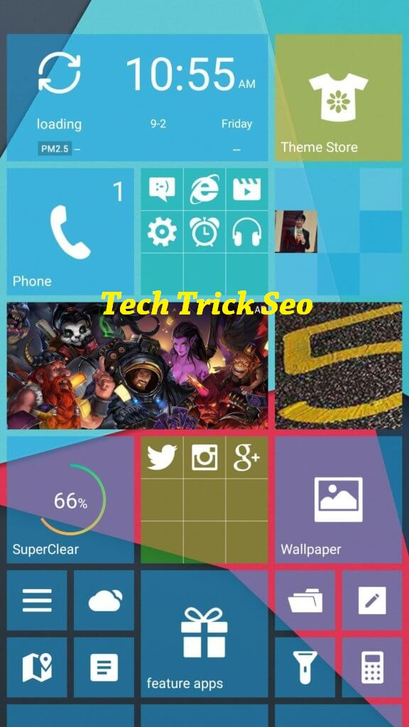 windows launcher for android apk