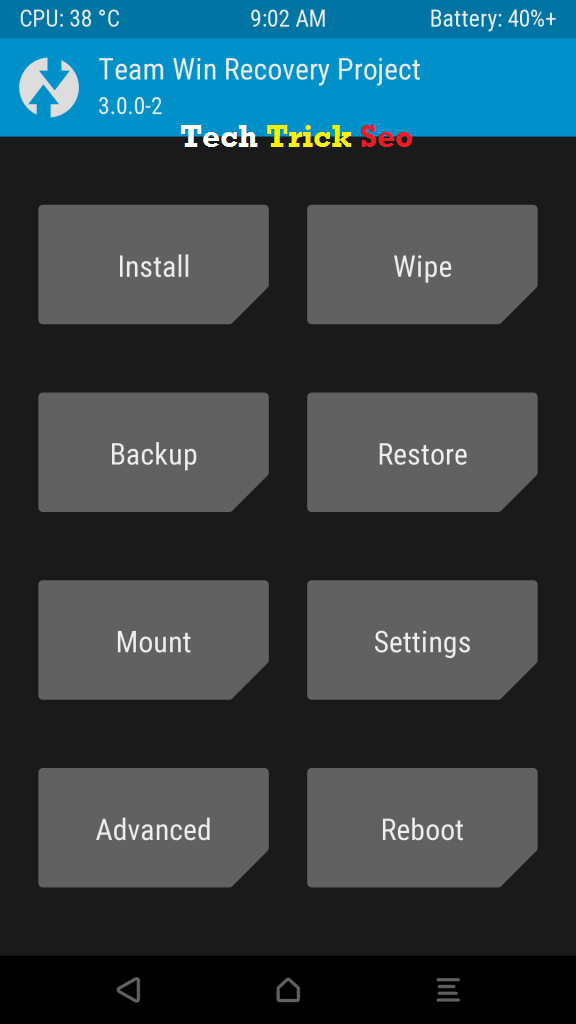 take capture custom recovery twrp cwm screenshot