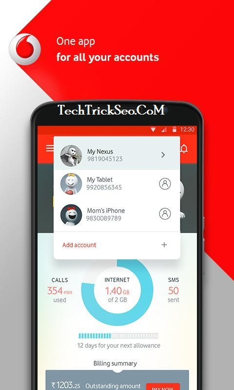 Download My Vodafone App
