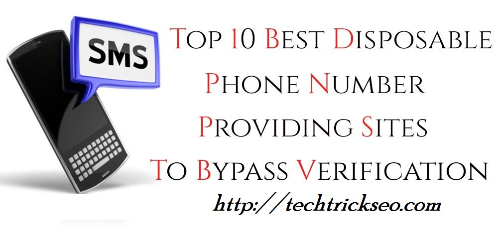 100% Working} Indian Disposable Phone Numbers for Bypass OTP 2019
