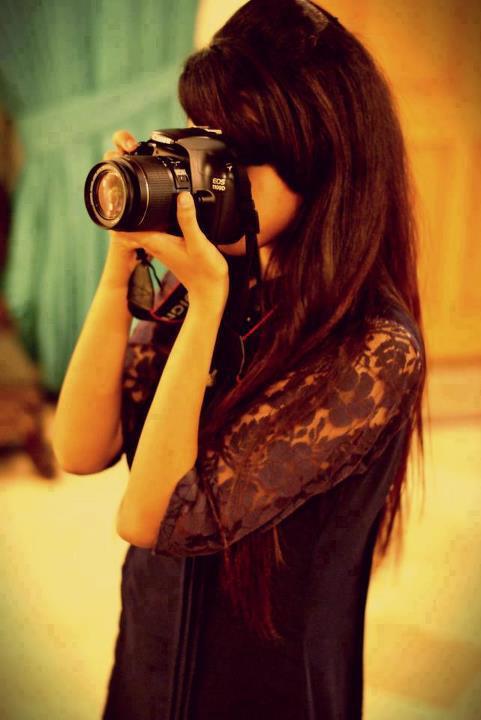 Stylish Girl DP with Camera