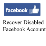 How To Enable/Recover Disabled Facebook Account – 2017