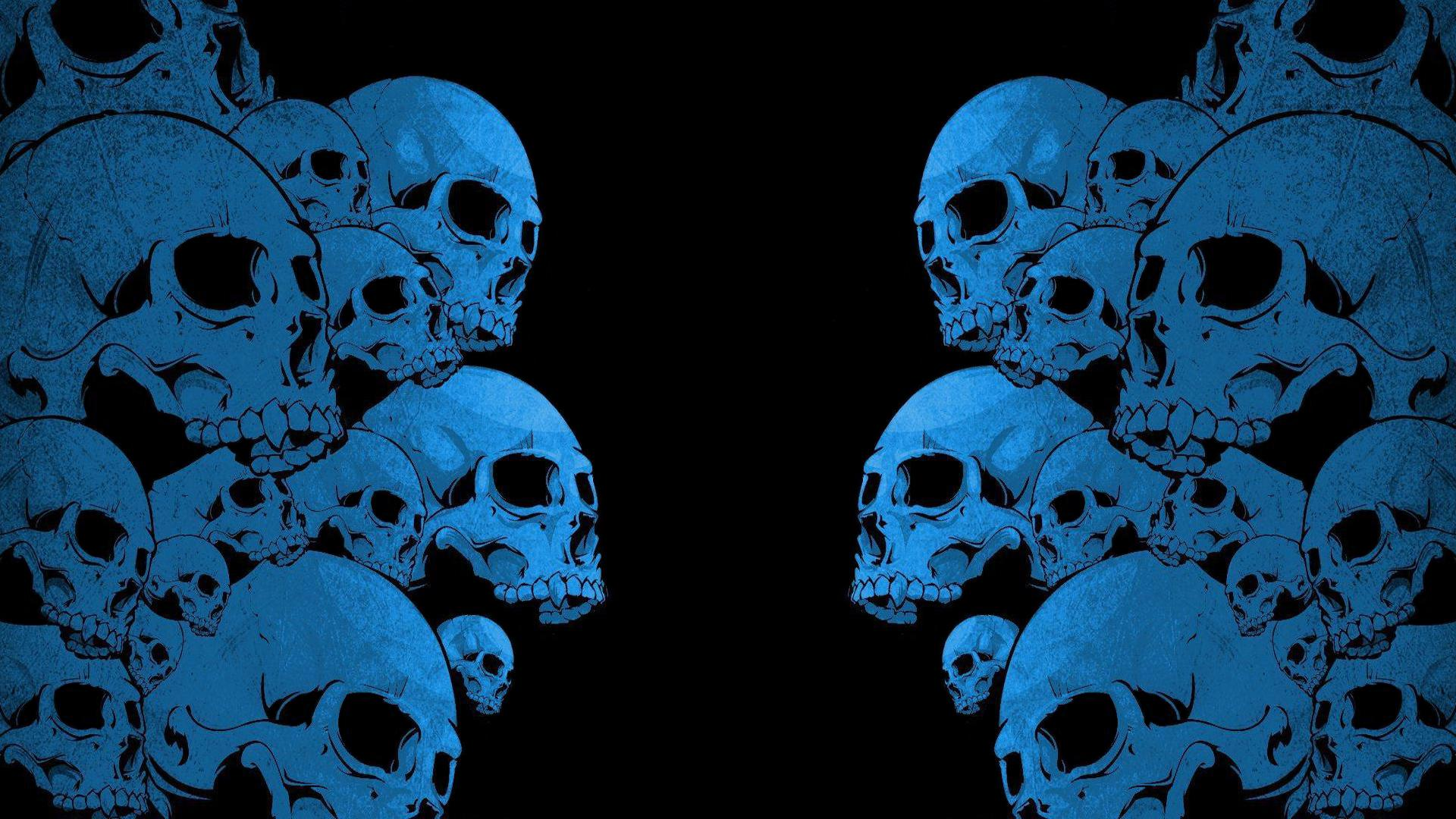 psychedelic skull wallpapers