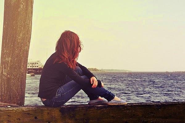 Alone Sad Girl DP