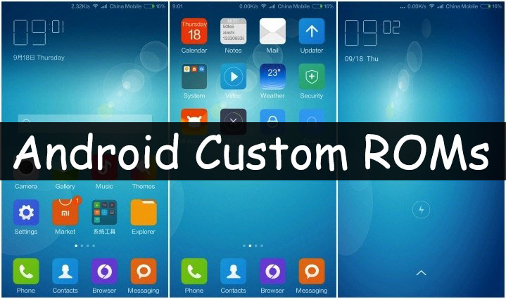 Custom firmware android