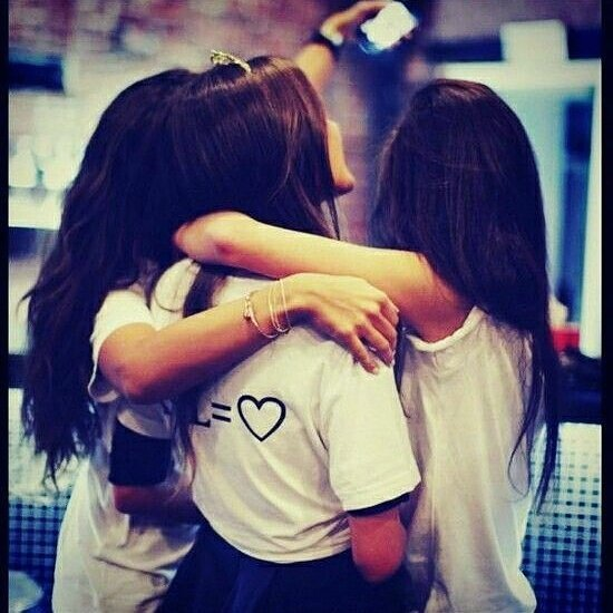 Best Friends Forever DP for Girls