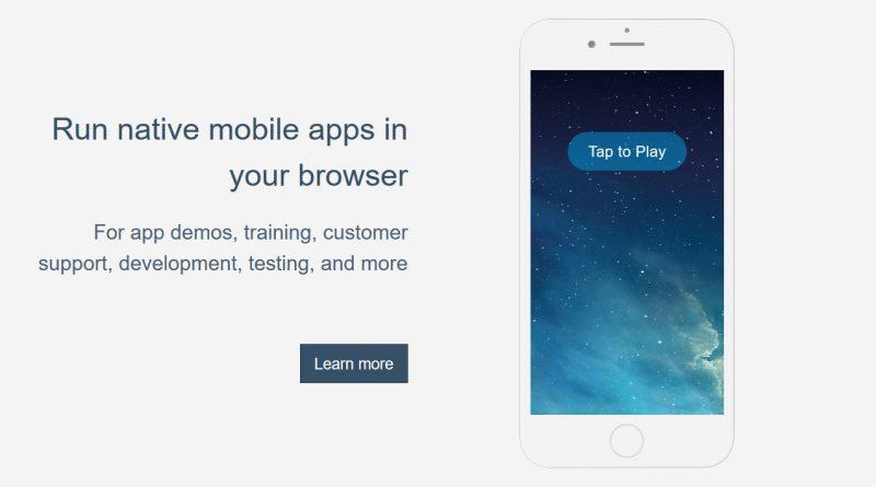 ios app emulator