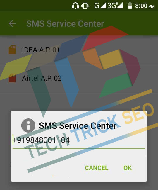 100% Latest} SMS Center Number for All Mobile Operators