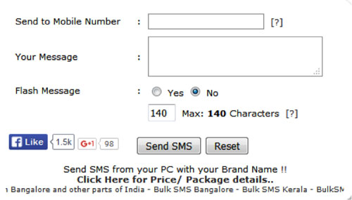 100% Working} 15 Sites Send Anonymous SMS Without