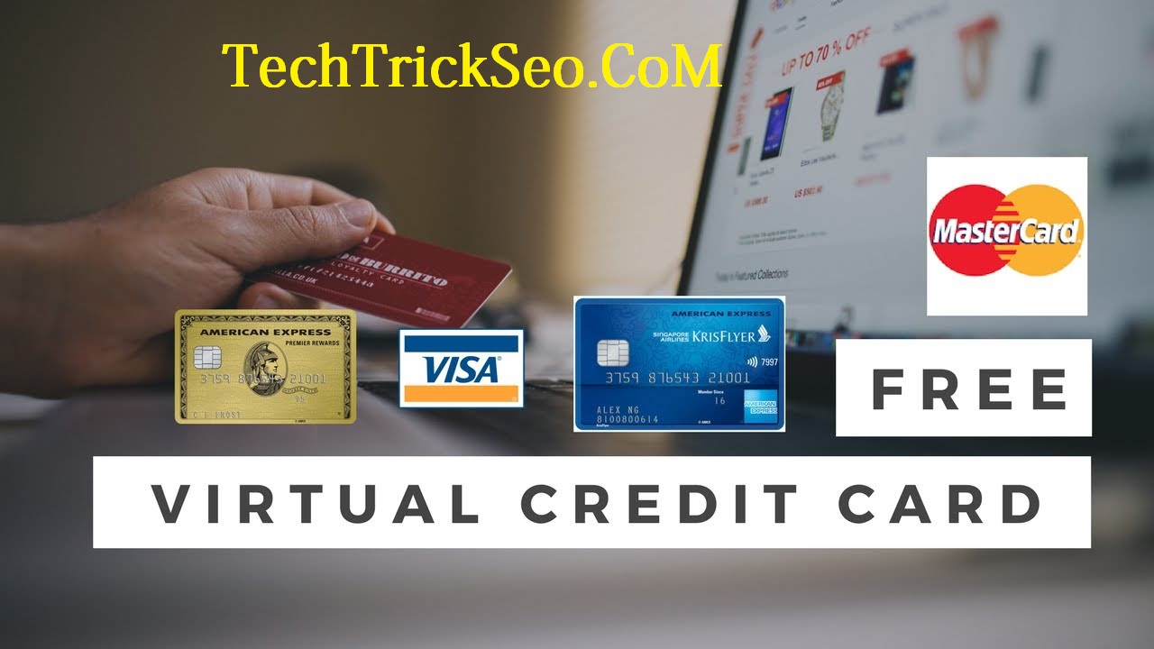 Online Virtual Credit Card