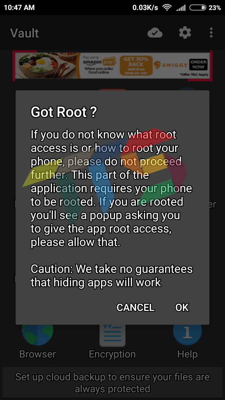 hide apps on android without root