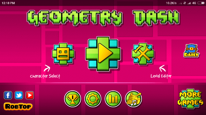 geometry dash gameplay images